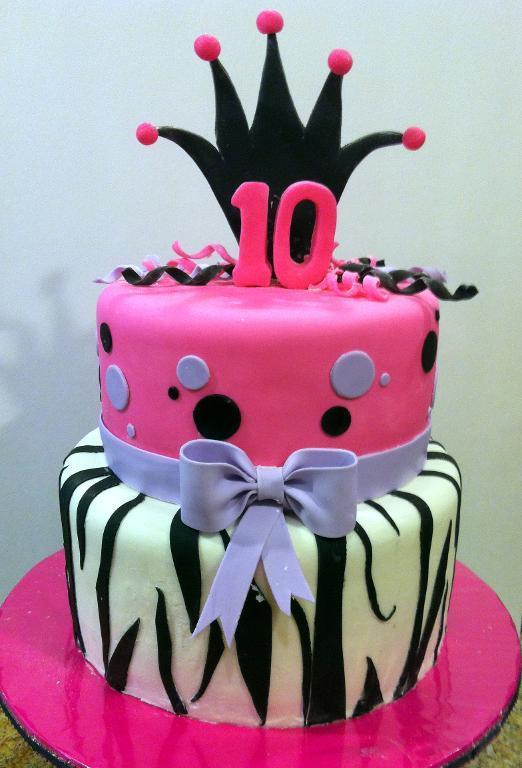 8 10 Birthday Cakes For Girls Photo Birthday Cake Birthday Cake