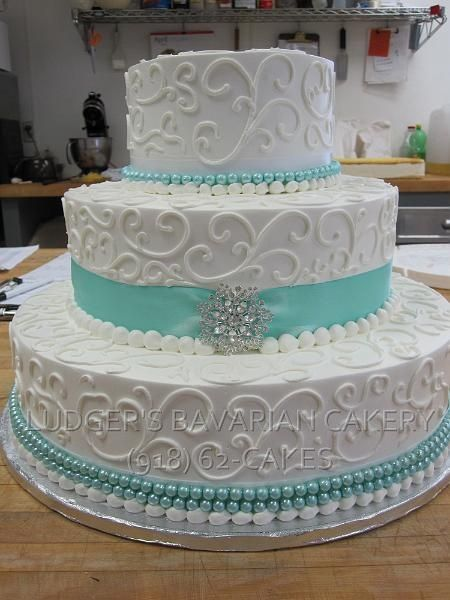 teal blue and brown wedding cakes 11 square cakes aqua color photo blue and teal wedding 20775