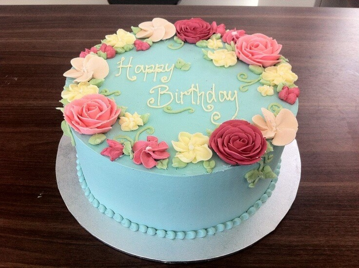 6 Safeway Bakery Sheet Cakes Roses Photo Buttercream Birthday Cake