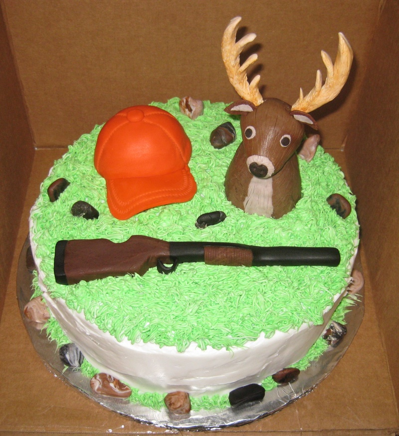 11 Deer Birthday Cakes Photo Deer Birthday Cake Ideas Deer
