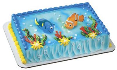 Finding Dory Birthday Cakes Walmart