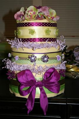 8 Girl Theme Diaper Cakes Photo Girl Baby Shower Diaper Cake Ideas