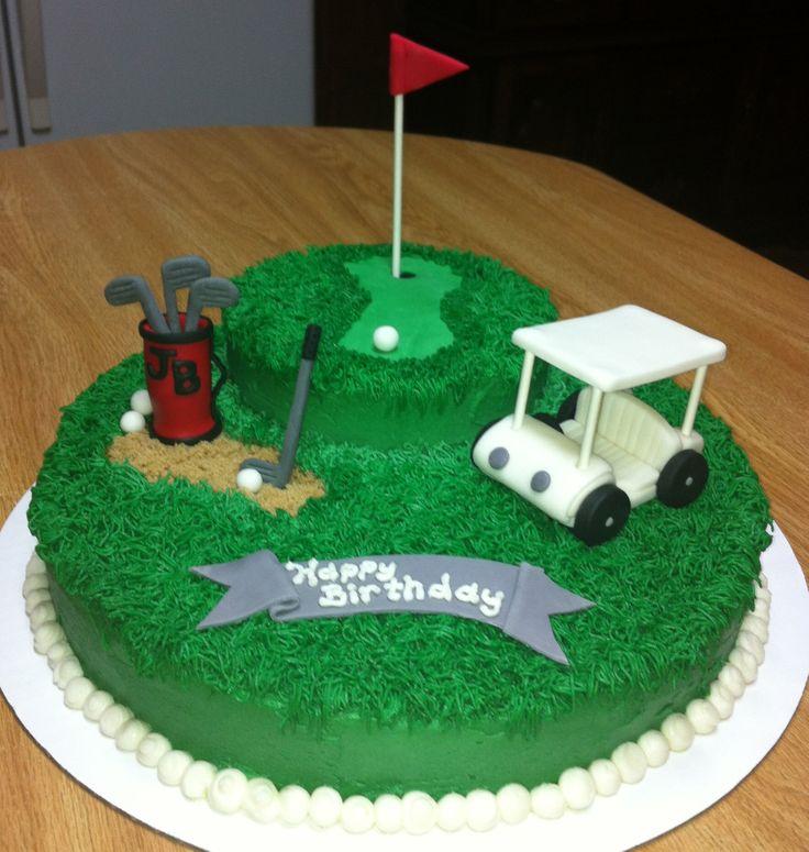 Superb 11 Golf Specialty Cakes Photo Golf Birthday Cake Golf Birthday Funny Birthday Cards Online Eattedamsfinfo