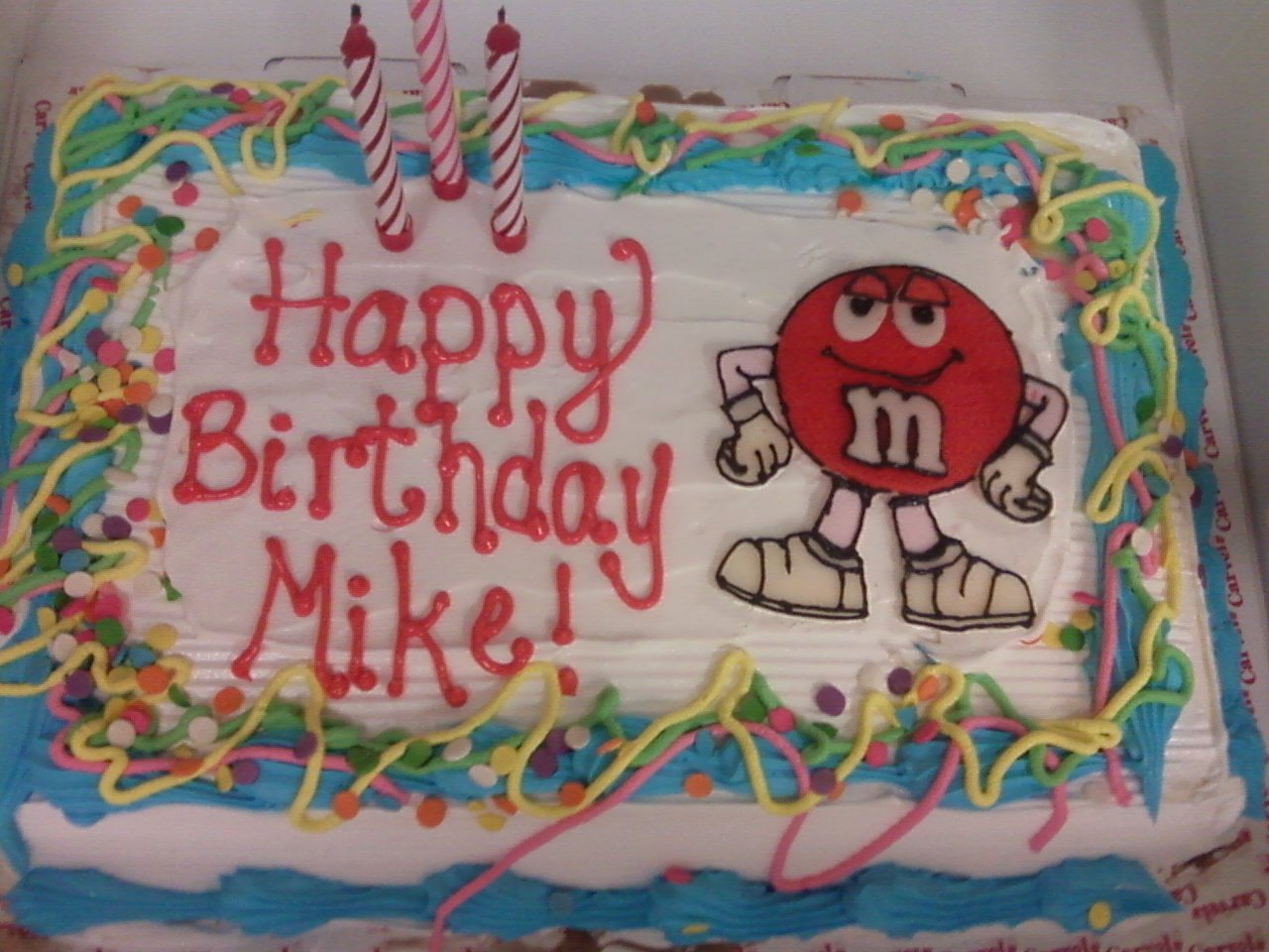 8 Happy Birthday Carvel Ice Cream Cakes Photo Carvel Ice Cream