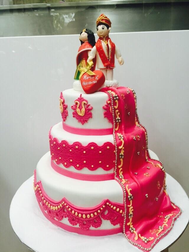 11 Hindu American Wedding Cakes Photo Traditional Indian Wedding