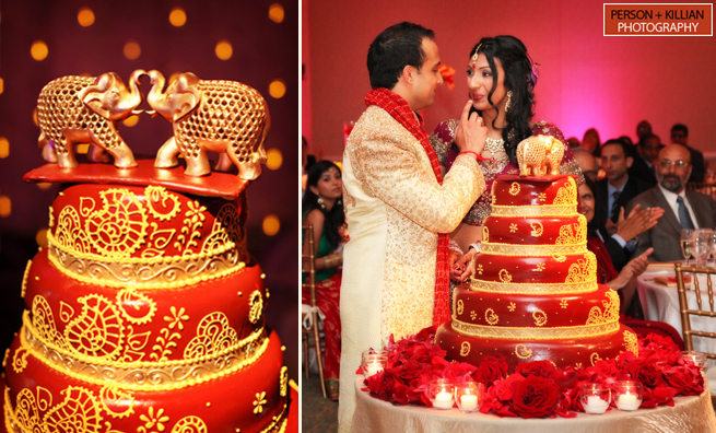 11 Hindu American Wedding Cakes Photo Traditional Indian Wedding