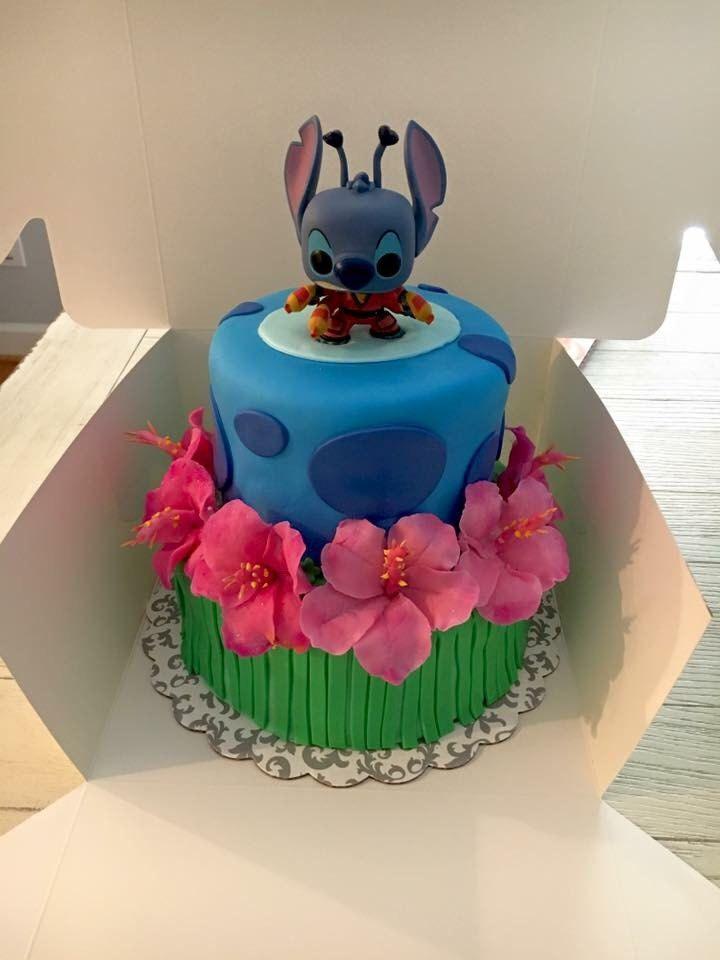 8 Awesome Lilo And Stitch Cakes Photo Lilo And Stitch Birthday