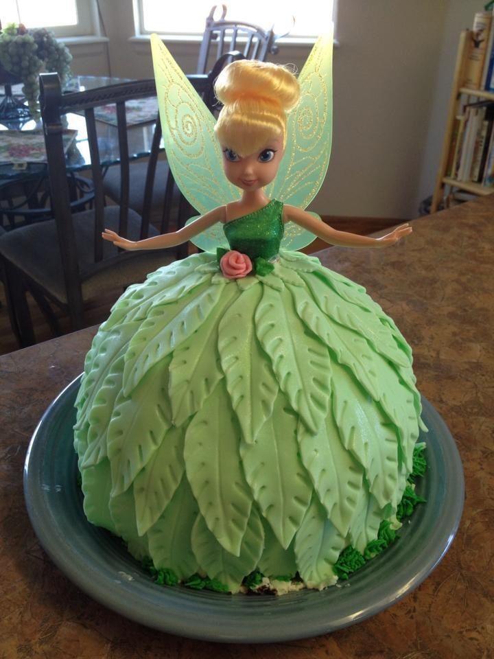 Little Girl Fondant Birthday Cake