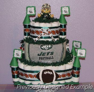 Incredible 10 Nfl Jets Football Cakes Photo Ny Jets Football Cake New York Funny Birthday Cards Online Amentibdeldamsfinfo