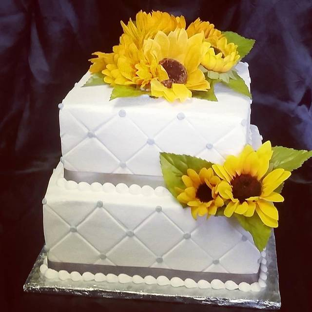 10 Costco Bakery Small Wedding Cakes Sunflowers Photo - Wedding Cake ...