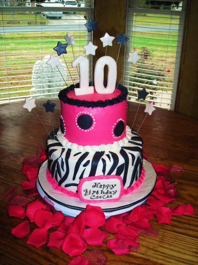 10 Year Old Birthday Cakes