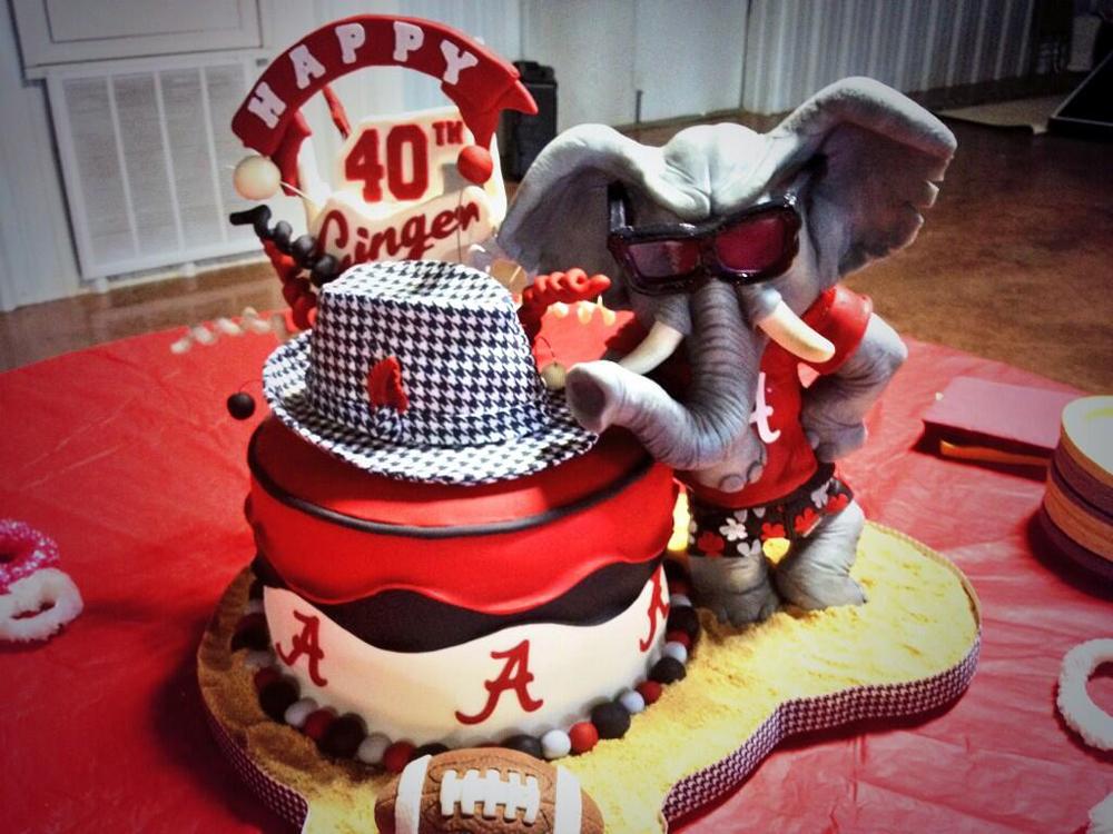 12 U Alabama Themed Cakes Photo Alabama Crimson Tide Happy