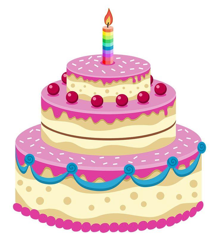 7 Cartoon Birthday Layer Cakes Photo Animated Happy Birthday Cake