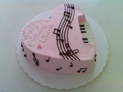 Birthday Cakes Shaped Like Guitar