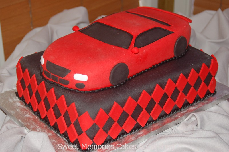 12 Car Shaped Cakes For Boys Photo