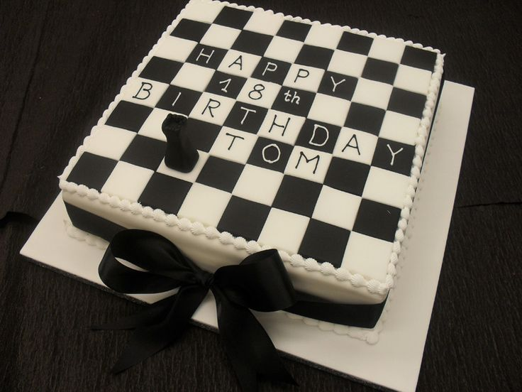 Incredible 10 Chess Board Wedding Cakes Photo Chess Cake Chess Board Funny Birthday Cards Online Overcheapnameinfo