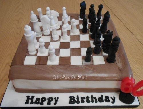 Astonishing 10 Chess Board Wedding Cakes Photo Chess Cake Chess Board Funny Birthday Cards Online Overcheapnameinfo