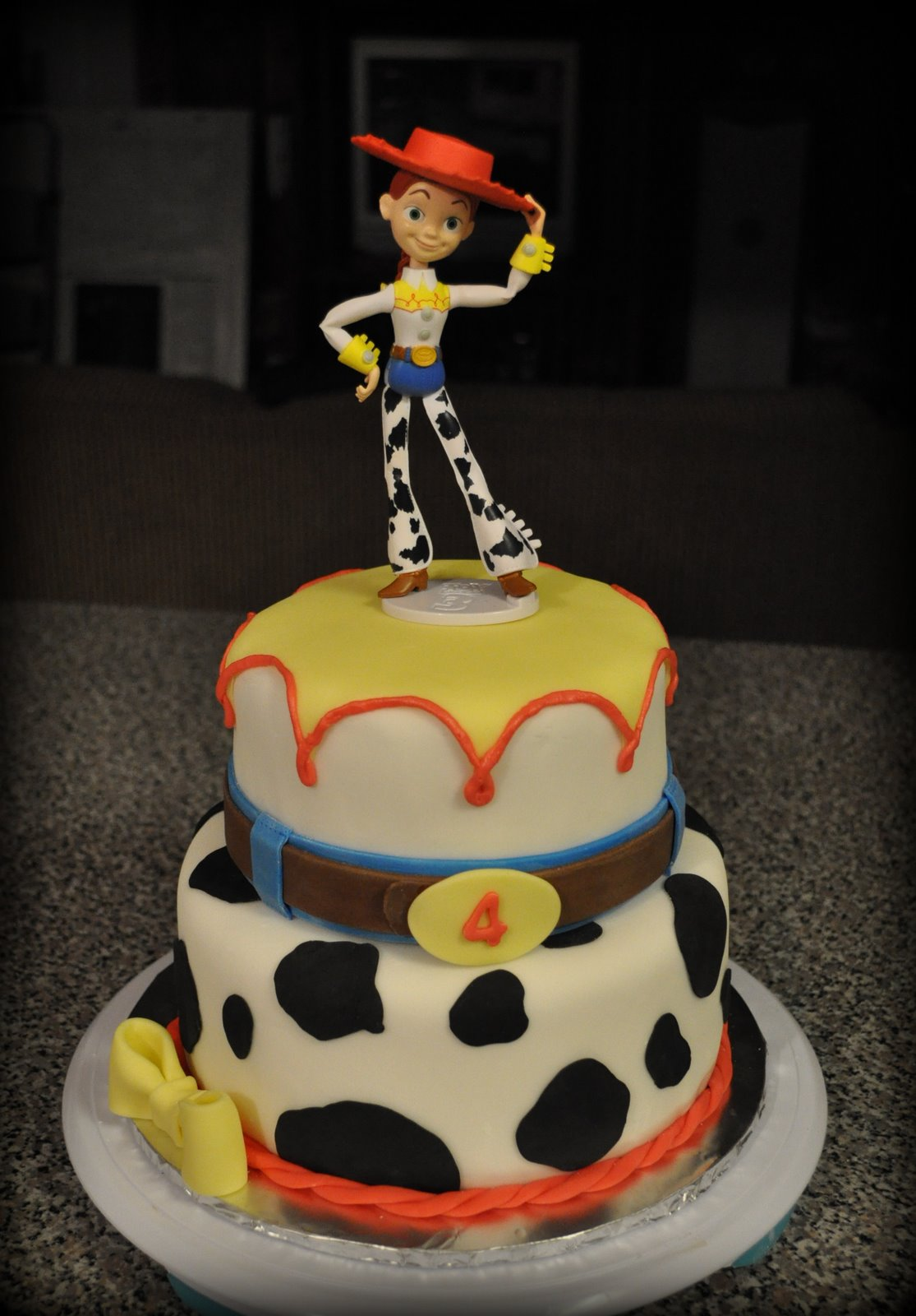 Cowgirl Jessie Birthday Cake