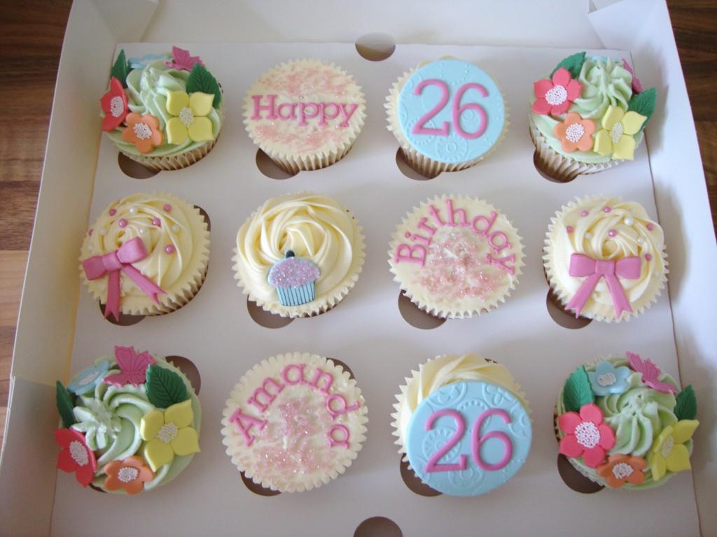 Cute Birthday Cupcake Idea