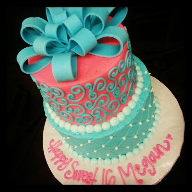 Awesome 7 Easy Sweet 16 Cakes Ideas Photo Cute Sweet 16 Cake Sweet 16 Funny Birthday Cards Online Kookostrdamsfinfo