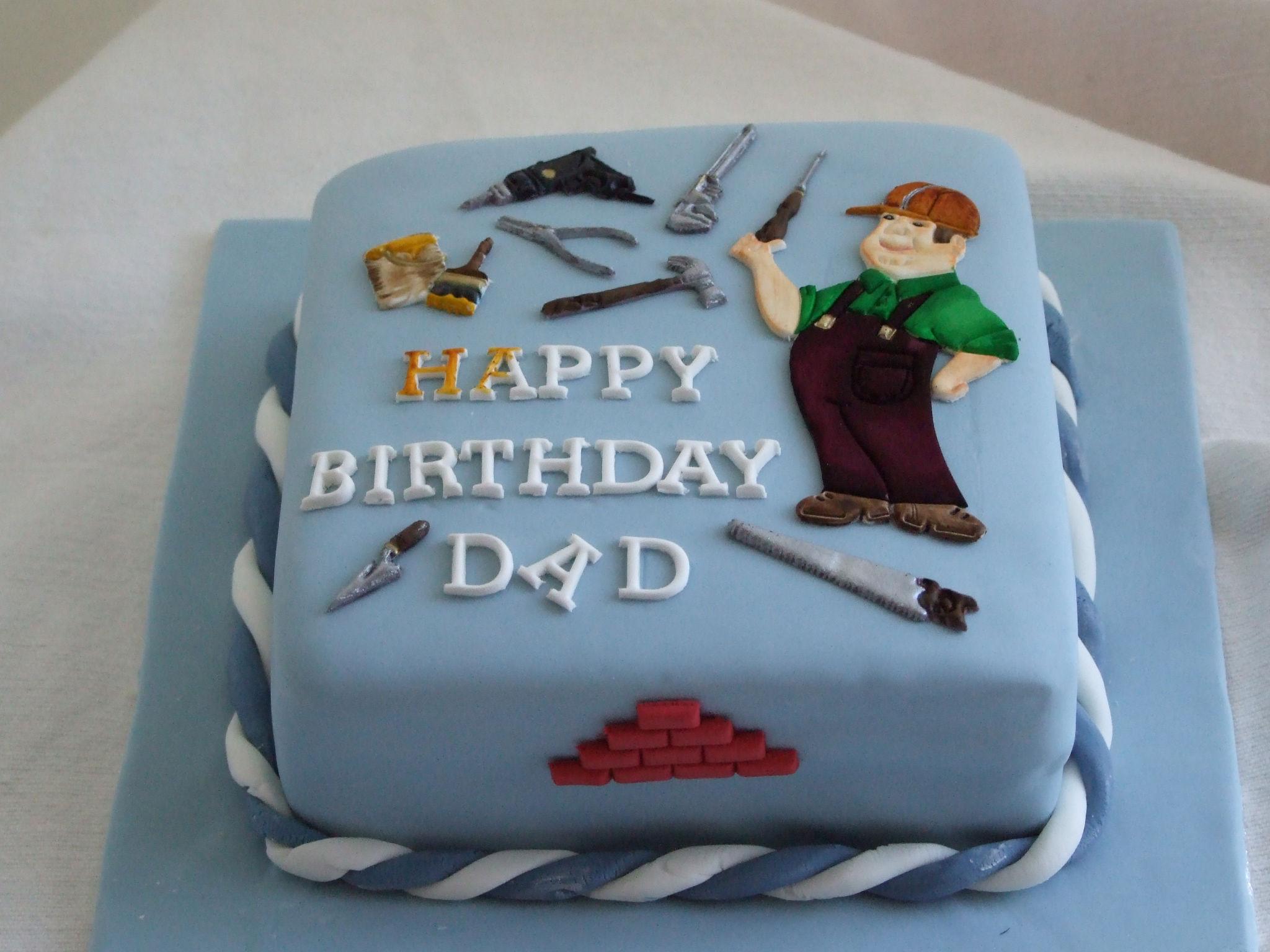 Dad Birthday Cake Idea
