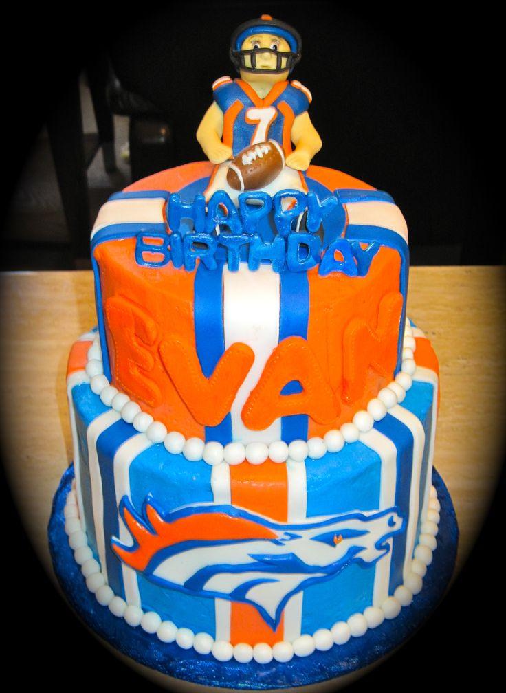 11 Awesome Bronco Cakes Photo Denver Broncos Birthday Cake Denver