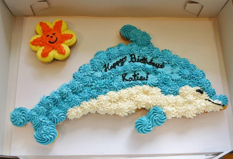 13 Dolphine Birthday Cupcake Cakes Photo