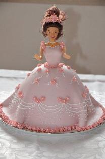 8 Simple Princess Fondant Cakes For Girls Photo Princess Cake