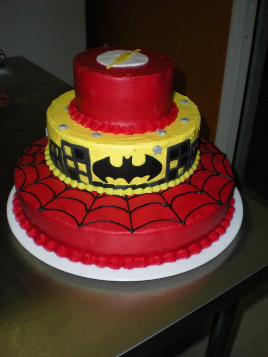 12 The Flash Superhero Themed Birthday Cakes Photo Flash Birthday