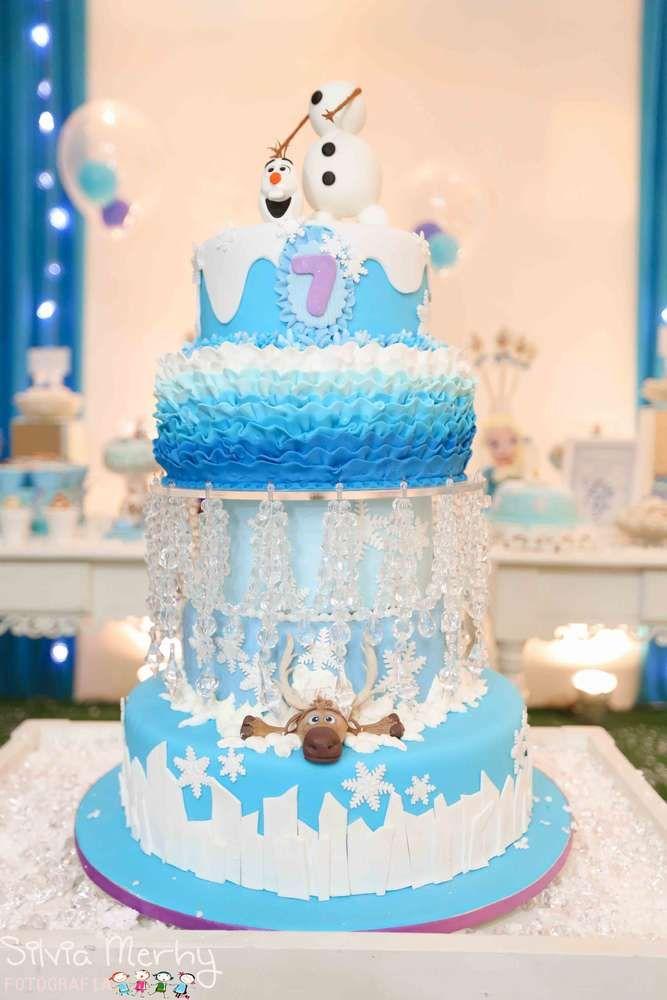13 Birthday Cakes From Frozen Photo Frozen Birthday Cake Ideas
