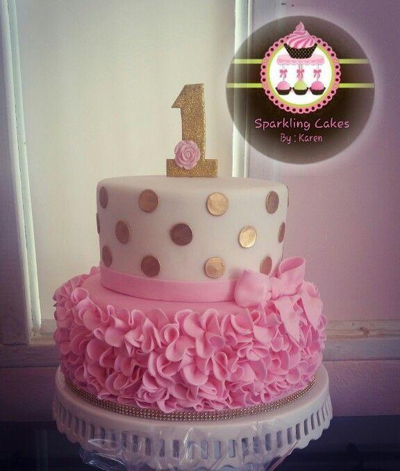 10 1st Birthday Cakes Party Girl Photo Girls Birthday Cake Ideas