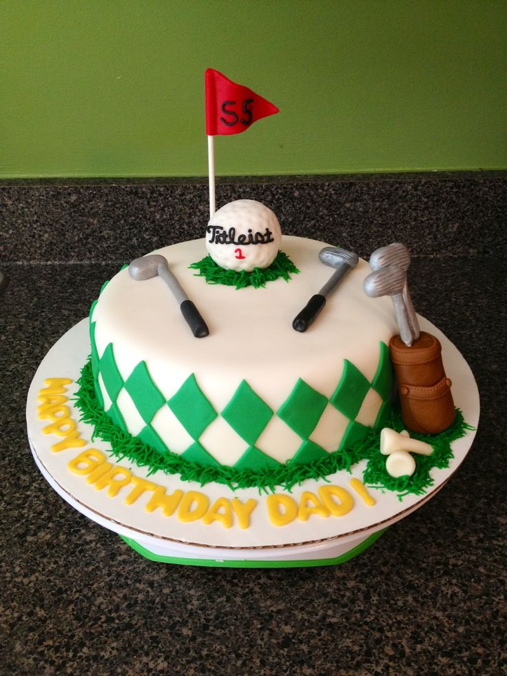 Golf Birthday Cakes Men