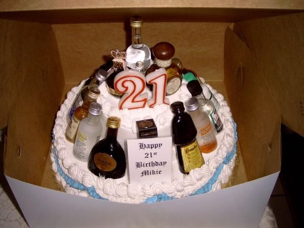 Excellent 10 Birthday Cakes For 21 Year Guy Photo 21St Birthday Cake Idea Funny Birthday Cards Online Elaedamsfinfo