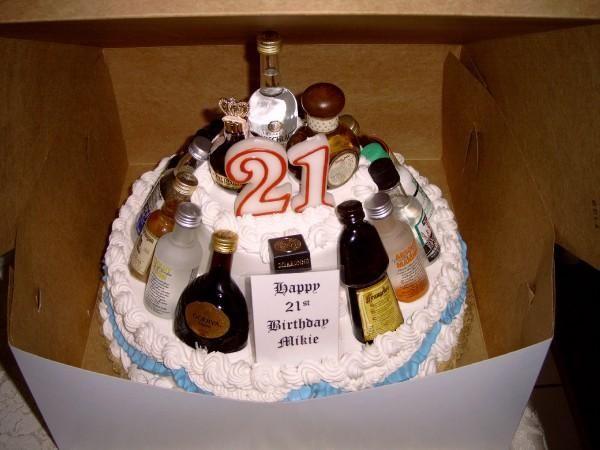 Tremendous 10 Birthday Cakes For 21 Year Guy Photo 21St Birthday Cake Idea Funny Birthday Cards Online Aeocydamsfinfo