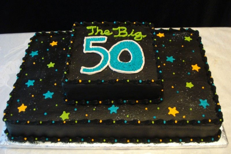 11 Black 50th Birthday Sheet Cakes Photo Man Cake Rh Snackncake Com