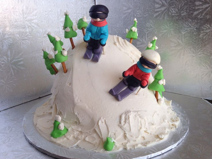 11 Happy Birthday Ski Themed Cakes Photo Skiing Themed Birthday