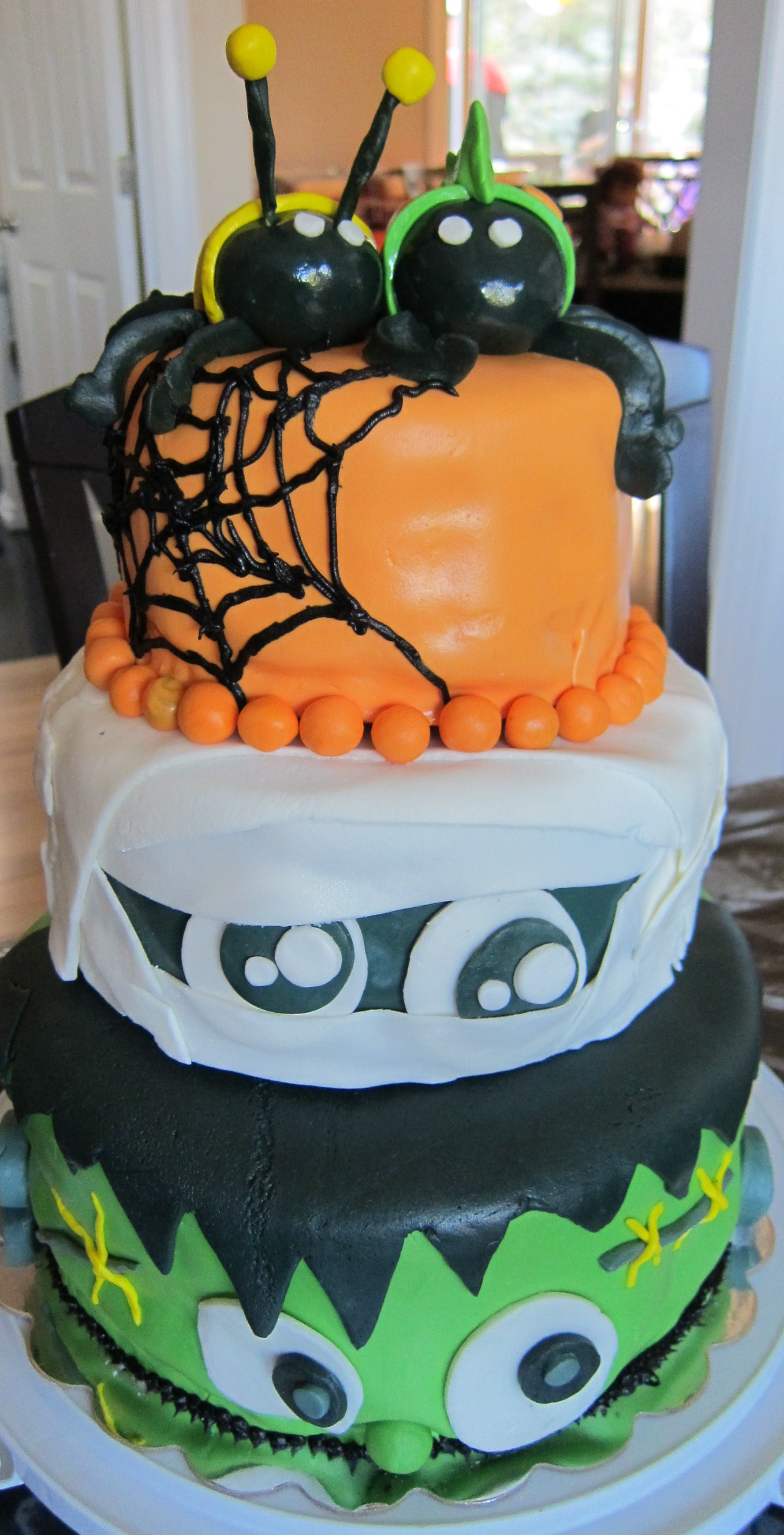 10 Homemade Halloween Cakes Photo Homemade Halloween Cake Idea