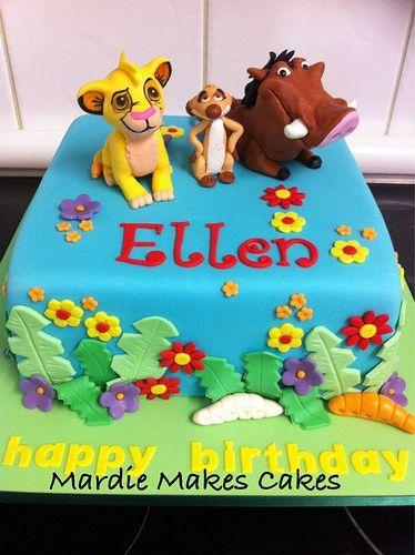 12 Albertson Cakes Designs Lion King Birthday Photo Lion King Cake