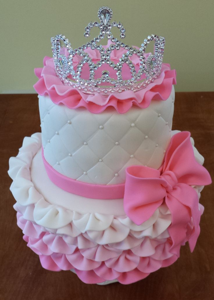 Princess Fondant Cake Tutorial