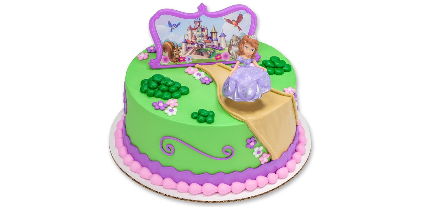 11 Sofia Castle Birthday Cakes Photo Sofia The First Castle Cake