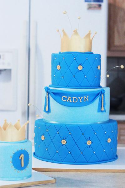 Royal Prince Birthday Cake