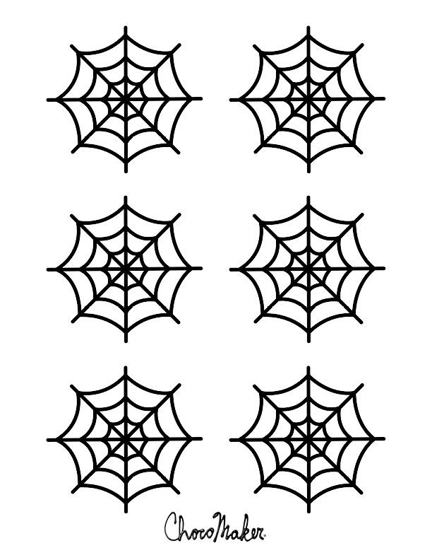 8 spider webs stencils for cupcakes photo spider web quilting
