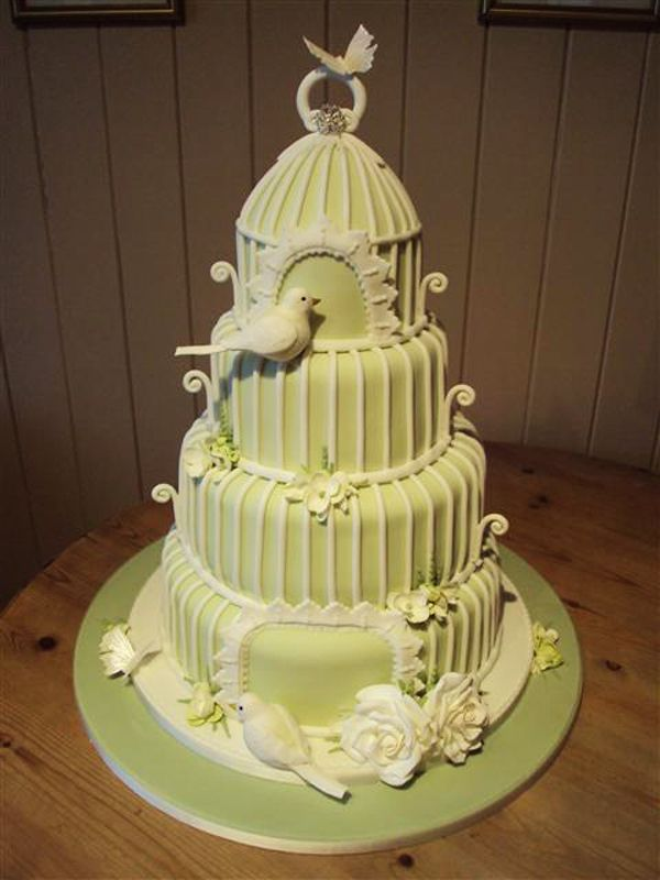 11 Wedding Cakes With Birds Photo - Bird Theme Wedding Cake, Love ...