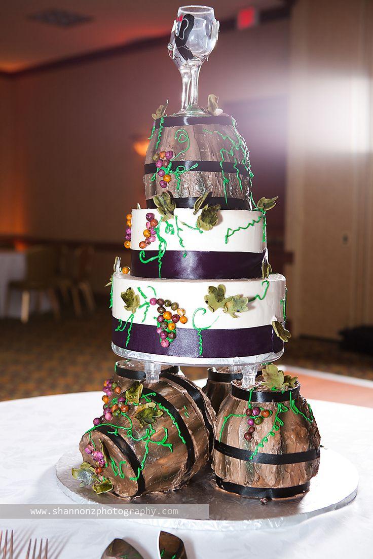 12 Winery Theme Wedding Cakes Pinterest Photo Wine Theme Wedding