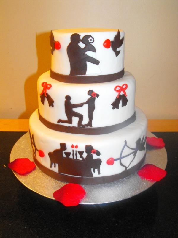 10 Year Wedding Anniversary Cakes