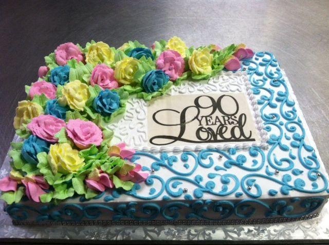 90th Birthday Cake Decorations