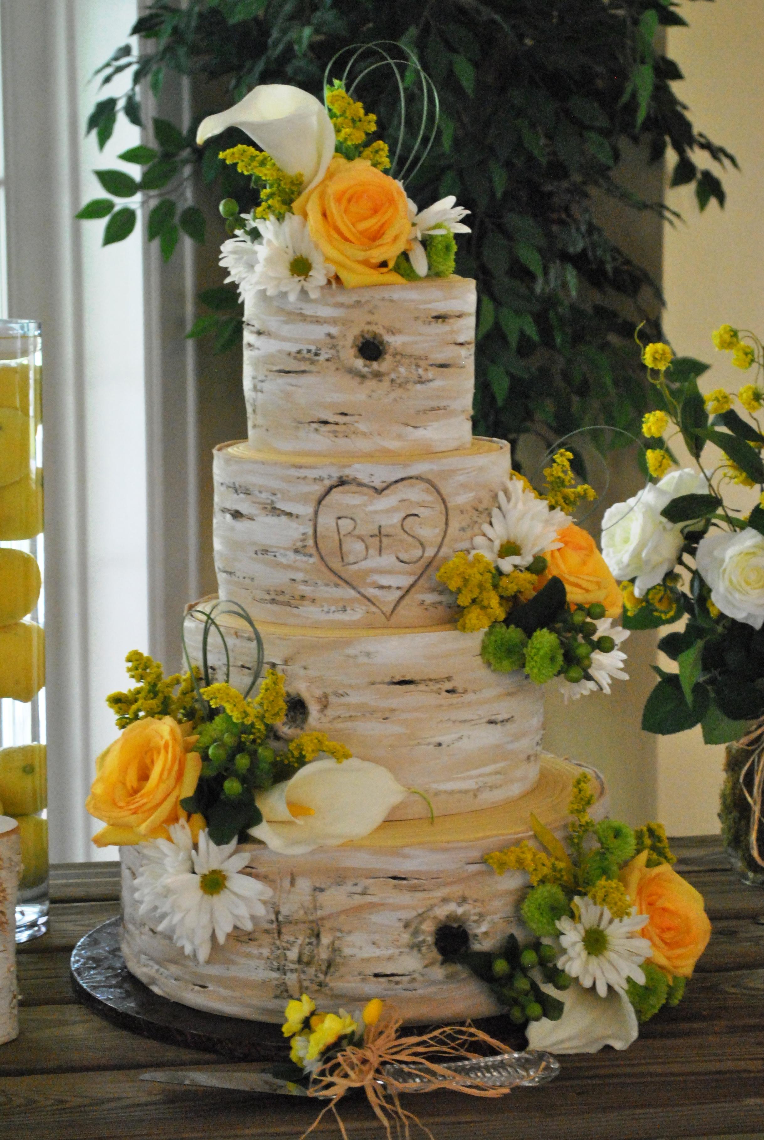 Tree Wedding Cakes - Wedding Cake Flavors