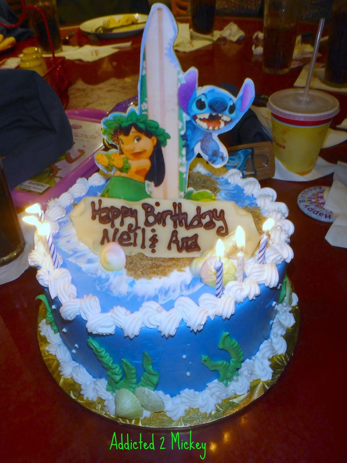 13 Disney World Specialty Cakes Photo Birthday Cakes at Disney