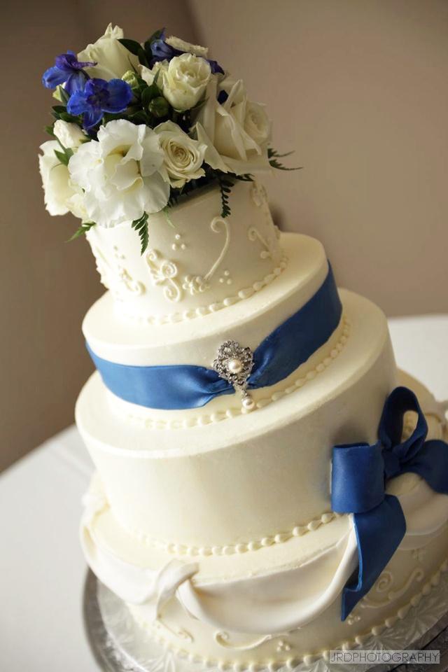 13 Brookshires Zebra Cakes Photo Blue Nautical Wedding Cake Ideas