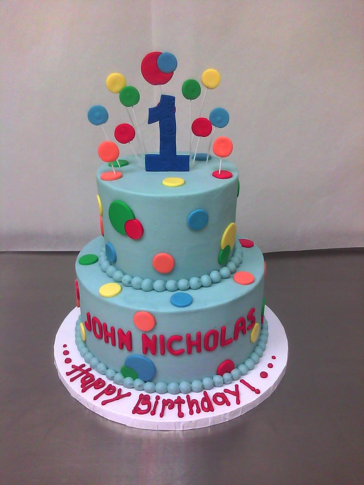 10 Unique Birthday Cakes For 1st Birthday Girl Photo Girl 1st